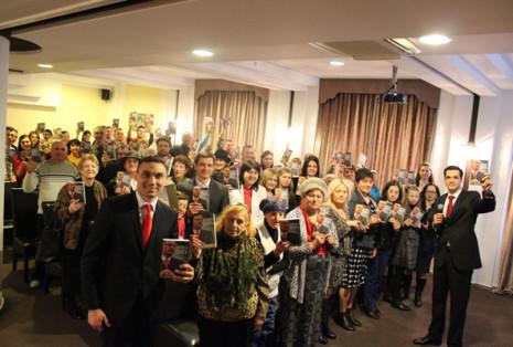 """Презентация книги """"Нечего Терять 1"""" в Молдове"""